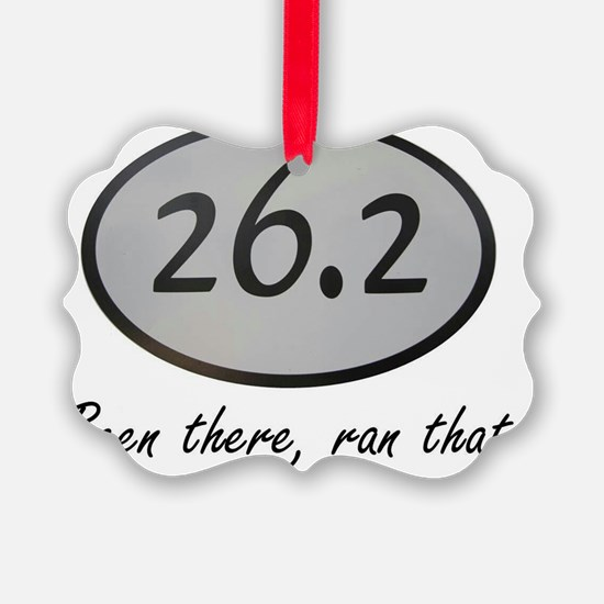 Been There 26.2 Ornament