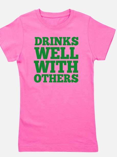 drinksWell2A Girl's Tee