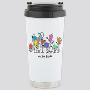 Micro Staph Stainless Steel Travel Mug