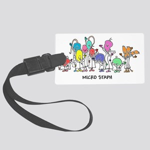 Micro Staph Large Luggage Tag