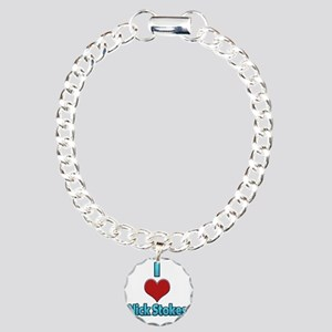 I heart Nick Stokes Charm Bracelet, One Charm