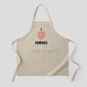 I heart Zombies Apron