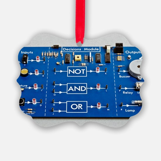 Educational circuit board Ornament