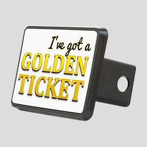 Ive got a golden ticket Rectangular Hitch Cover
