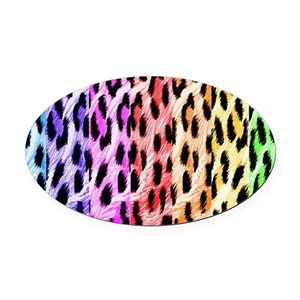 fd108912be Animal Print Stickers Car Accessories - CafePress