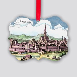 Ensisheim, France, 17th Century a Picture Ornament