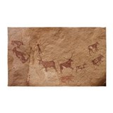 Cave painting Area Rugs