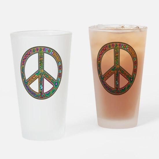 Peace Zen! Drinking Glass