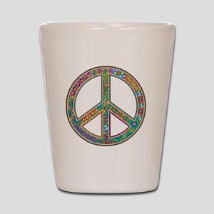 Peace Zen! Shot Glass