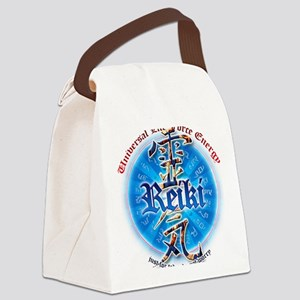 REIKI HEALING HANDS just for toda Canvas Lunch Bag