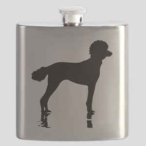 Poodles Are Perfect Flask