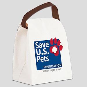 Save U.S. Pets Foundation Canvas Lunch Bag