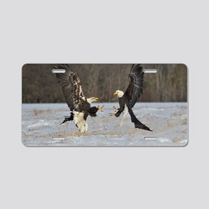 fighting eagles Aluminum License Plate