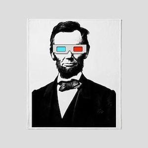 3D ABRAHAM LINCOLN Throw Blanket