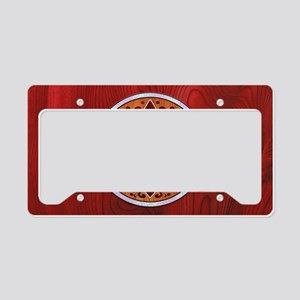 fleur-wood-inlay-OV License Plate Holder