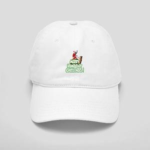 Funny Merry Hump Day Christmas Baseball Cap
