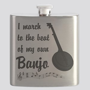 March to the Beat: Banjo Flask