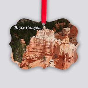 Bryce Canyon, Utah 3 (caption) Picture Ornament