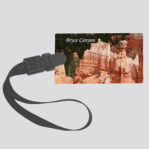 Bryce Canyon, Utah 3 (caption) Large Luggage Tag
