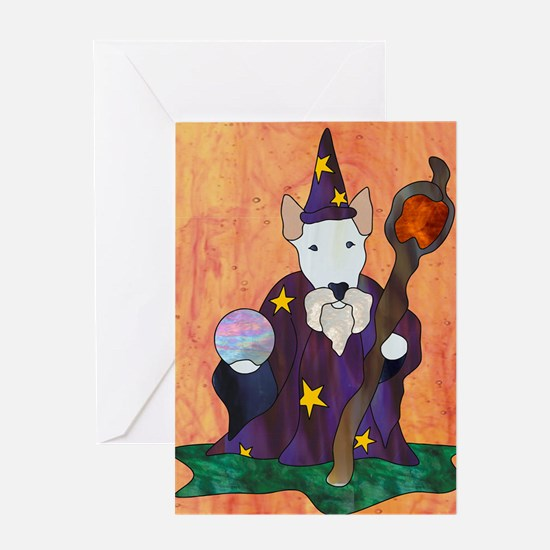 Bully Wizard Greeting Card