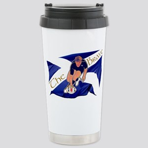 Scotland style rugby pl Stainless Steel Travel Mug