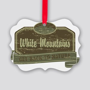 White Mountains: Get Back to Natu Picture Ornament