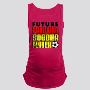 Future Peruvian Soccer Player Maternity Tank Top