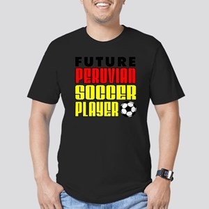 Future Peruvian Soccer Men's Fitted T-Shirt (dark)