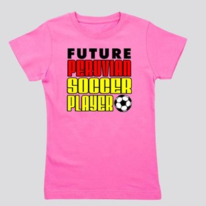 Future Peruvian Soccer Player Girl's Tee