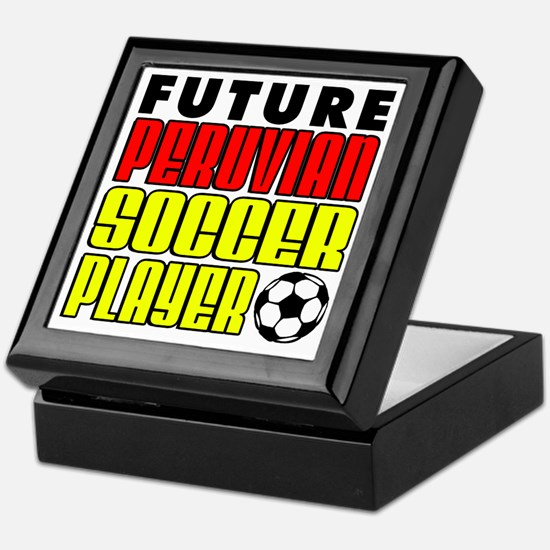 Future Peruvian Soccer Player Keepsake Box