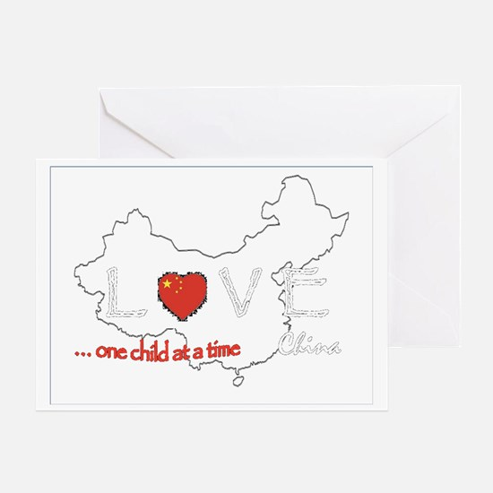 LoveChina Greeting Card