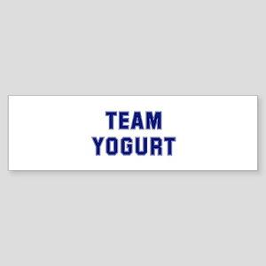 Team YOGURT Bumper Sticker