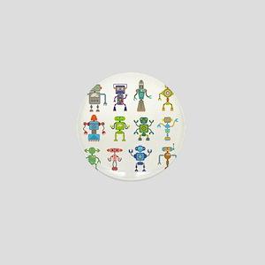 Robots by Phil Atherton Mini Button