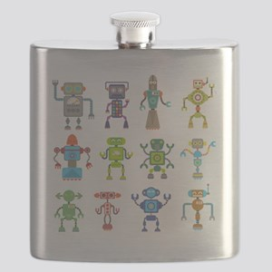 Robots by Phil Atherton Flask