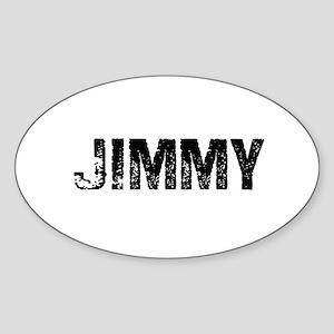 Jimmy Oval Sticker