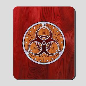 biohaz-delftwood-CRD Mousepad