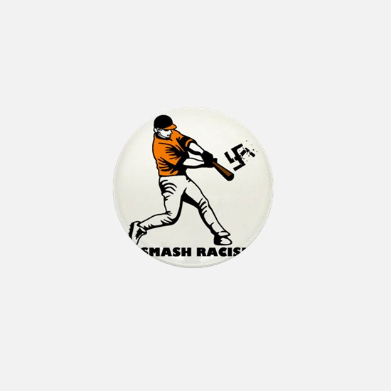 Smash Racism Mini Button