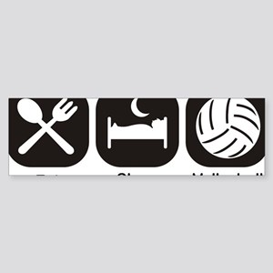 Eat, Sleep, Volleyball Sticker (Bumper)