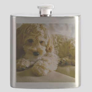 The Cockapoo Puppy Flask