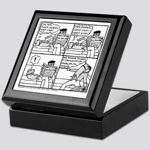 Communication Problem Keepsake Box