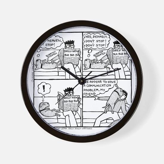 Communication Problem Wall Clock