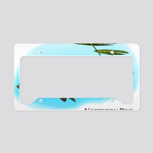 Northern Pike License Plate Holder