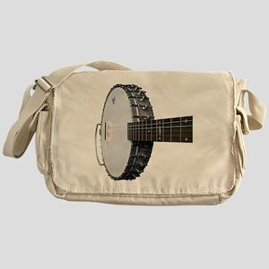 Vintage Banjo Messenger Bag