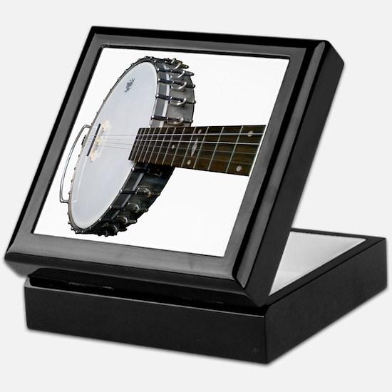 Vintage Banjo Keepsake Box