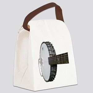 Vintage Banjo Canvas Lunch Bag