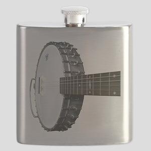 Vintage Banjo Flask