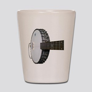 Vintage Banjo Shot Glass