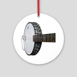 Vintage Banjo Round Ornament