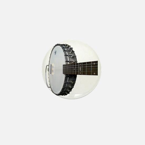 Vintage Banjo Mini Button