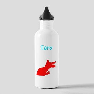 Taro Custom Name Dinos Stainless Water Bottle 1.0L